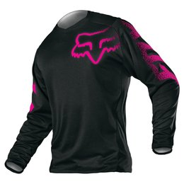 Fox Racing Youth Girls Blackout Jersey 2015 Black