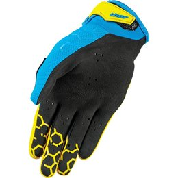 Thor Mens Draft Indi Mesh Street Riding Gloves Yellow