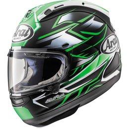 Arai Corsair-X Ghost Full Face Helmet With Flip Up Shield Green
