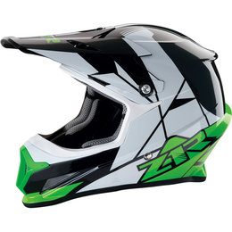 Z1R Rise Offroad MX Motocross DOT Approved Helmet Green
