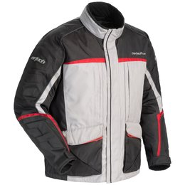 Silver, Black, Red Cortech Womens Cascade 2.1 Snow Jacket 2014 Silver Black Red