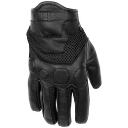 Black Brand Mens Tech Rider Touchscreen Mesh Gloves