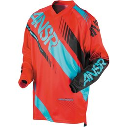 Answer Youth Boys Syncron Motocross MX Riding Jersey Red