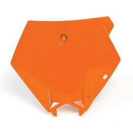 Acerbis Front Number Plate Orange For KTM 250 300 SX Each