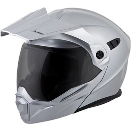 Scorpion EXO-AT950 Solid Modular Helmet Silver