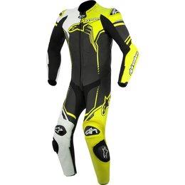 Alpinestars Mens GP Plus 1 Piece Armored Leather Suit Black