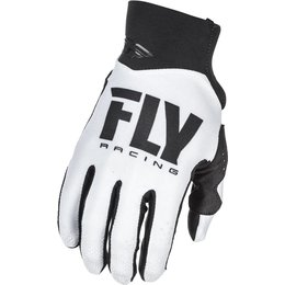 Fly Racing Youth Pro Lite Race Gloves White