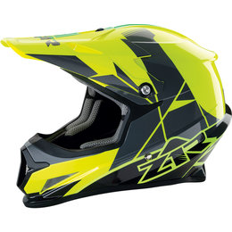 Z1R Rise Offroad MX Motocross DOT Approved Helmet Yellow