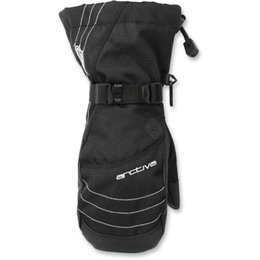 Arctiva Womens Pivot Insulated Waterproof Snow Mitts Black