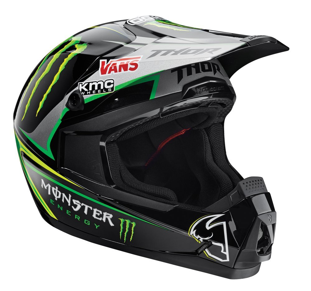 $125.00 Thor Quadrant Pro Circuit Replica Helmet #198162