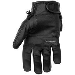 Black Brand Mens Tech Rider Touchscreen Mesh Gloves Black