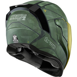 Icon Airflite Battlescar 2 Full Face Helmet Green
