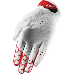 Thor Mens Draft Indi Mesh Street Riding Gloves Red