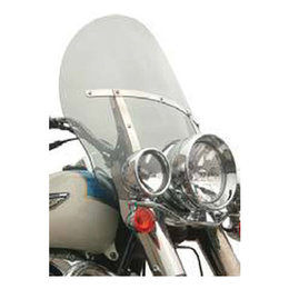 Clear Klock Werks Flare Billboard Windshield 18 Inch For Harley Flhr