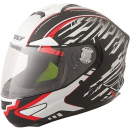 Fly Racing Luxx Shock Full Face Helmet Black