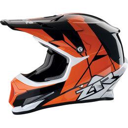 Z1R Rise Offroad MX Motocross DOT Approved Helmet Orange