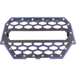 Modquad UTV Front Grill Without Light Bar For Polaris Black Blue RZR-FGL-1K-BL Black