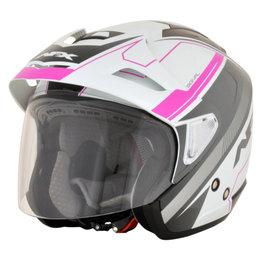 AFX Womens FX-50 FX50 Signal Open Face Helmet Pink