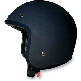 Flat Black Afx Mens Fx-76 Fx76 Open Face Helmet