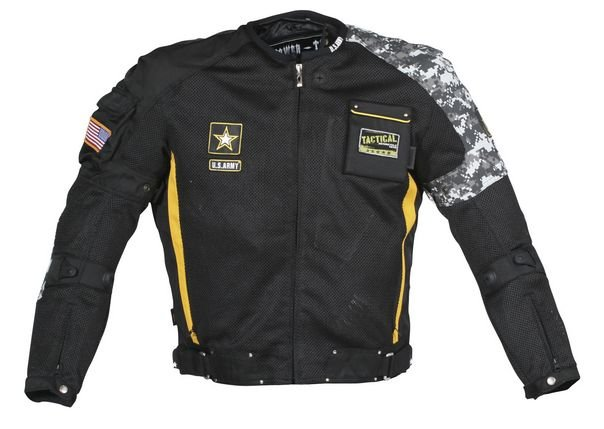 Alpinestars Motorcycle Jacket >> $219.99 Power-Trip Army Delta Textile Motorcycle Jacket #17142