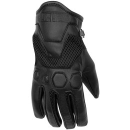 Black Brand Womens Tech Rider Touchscreen Mesh Gloves