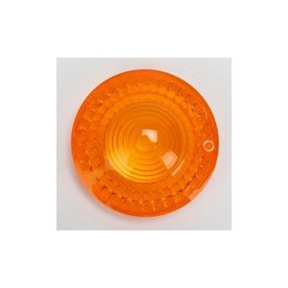 K&S Technologies Turn Signal Replacement Lens Amber For Yamaha SR 75-83