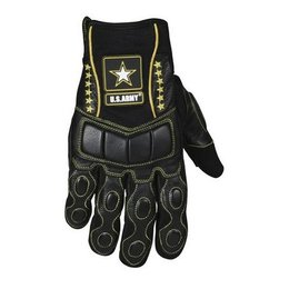 Black Power Trip Army Hawk Gloves