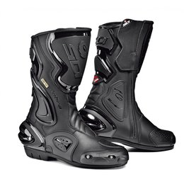Sidi Mens Cobra Gore-Tex Leather Riding Boots Black