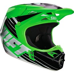 Shift Racing Assault Race Helmet Green