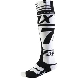 Fox Racing Mens FRI Union Thick Riding Socks Pair Black