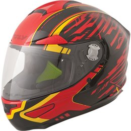 Fly Racing Luxx Shock Full Face Helmet Red