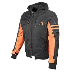 Black, Orange Speed & Strength Off The Chain 2.0 Textile Jacket 2014 Black Orange