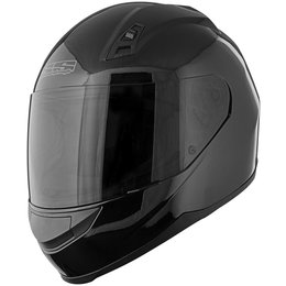 Gloss Black Speed & Strength Ss700 Solid Speed Full Face Helmet 2013