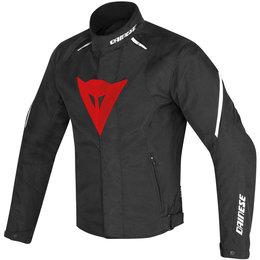 Dainese Mens Laguna Seca D1 D-Dry Armored Textile Jacket Black