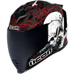 Icon Airflite Skull 18 Full Face Helmet Black