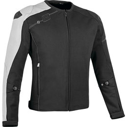 Speed & Strength Mens Lightspeed Armored Textile Riding Jacket LS Black