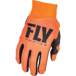 Fly Racing Youth Pro Lite Race Gloves Orange