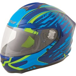 Fly Racing Luxx Shock Full Face Helmet Blue