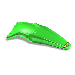 Cycra Powerflow Fender CF Green For Kawasaki KX250F KX 250F KX450F KX 450F 2013