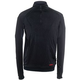 Black Mobile Warming Longmen Shirt W Battery
