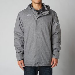 Fox Racing Mens Enhance Hooded Tech Jacket 2014 Grey