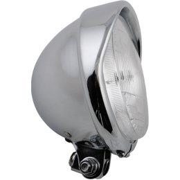 HardDrive Headlight Bottom Mount 5.75 In For Harley Chrome 20-6002BHD Silver