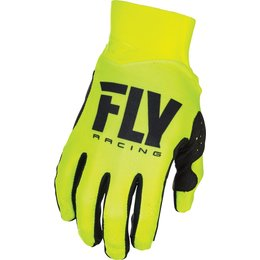Fly Racing Youth Pro Lite Race Gloves Yellow