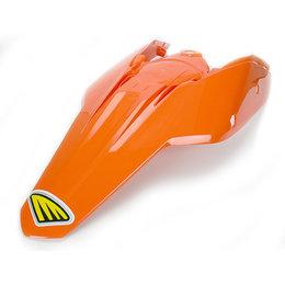 Cycra Powerflow Fender Carbon Fiber Orange KTM SX SX-F EXC XC XCF-W 2007-2011