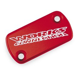Red Works Connection Brake Fluid Cap For Yamaha Yz 07-11