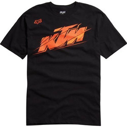 fox racing youth ktm hint of orange t shirt 141445. Black Bedroom Furniture Sets. Home Design Ideas
