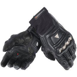 Dainese Mens Race Pro In Leather Gloves Black