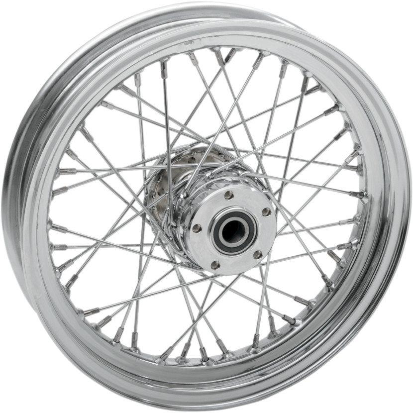 $359 95 Drag Specialties 16x3 40 Spoke Laced Chrome Rear #230097