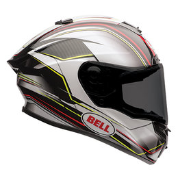 Bell Powersports Race Star Triton Full Face Motorcycle Helmet Black
