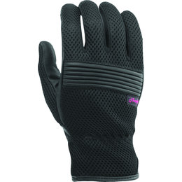Highway 21 Womens Adrift Mesh Riding Gloves Black
